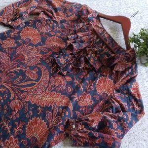 Ralph Lauren blouse size large